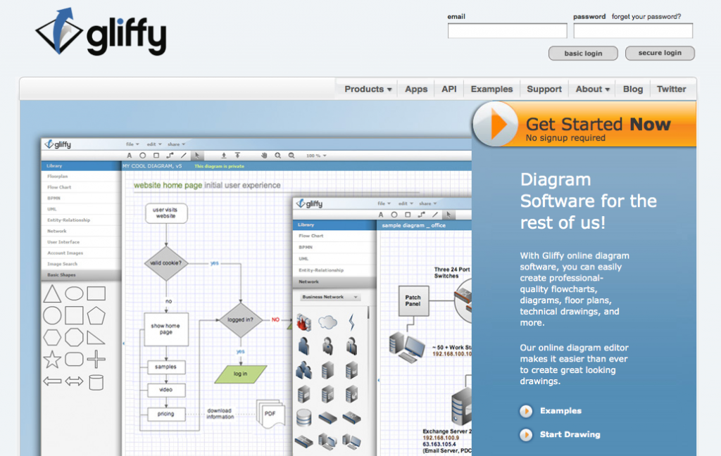 Gliffy  U2013 Online Diagram Software