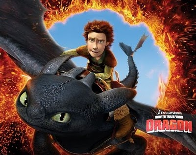 desene How To Train Your Dragon poster