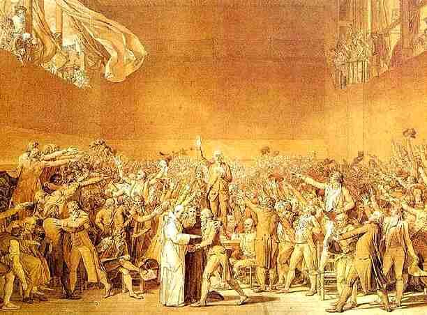 French_Revolution_Serment_du_jeu_de_paume_Tennis_Court_Oath French Revolution Estates System